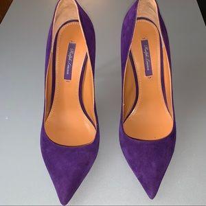 Ralph Lauren purple label Purple 👠 heels